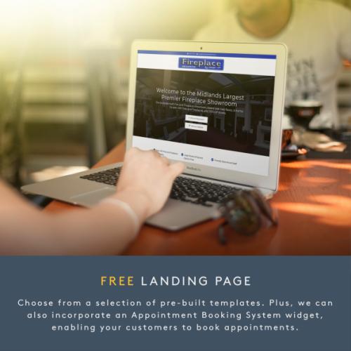 #IAmOpen - Free Landing Page